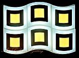 Прямоугольная потолочная LED люстра, фото 2
