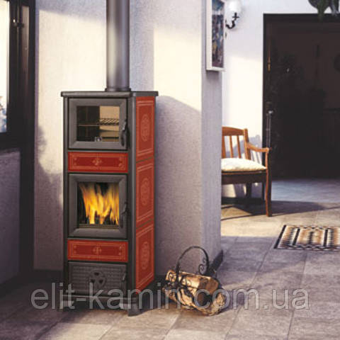 Печь-камин с духовкой Edilkamin Dafne Forno