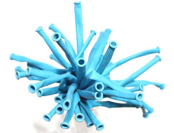 ШДМ Голубые - латексные шары для моделирования (диаметр 5 см) TM Gemar