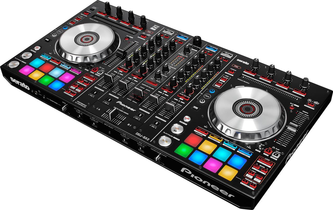 4-канальный контроллер для Serato DJ Pro Pioneer DDJ-SX2