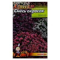 Алиссиум Смесь красок семена цветы, большой пакет 3г