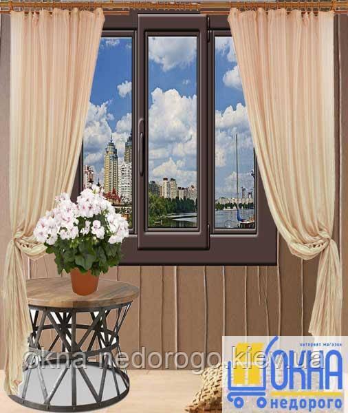 Ламіновані вікна зовні ➪ ціни, фото