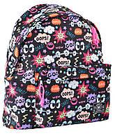 Рюкзак молодежный ST-17 Crazy OOPS!, 42*32*12  554980