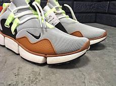 Кроссовки мужские Nike Pocket Knife DM серые топ реплика, фото 3