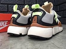 Кроссовки мужские Nike Pocket Knife DM серые топ реплика, фото 2