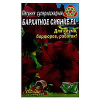 Петуния Бархатное сияние F1 суперкаскадная семена цветы, большой пакет 3г