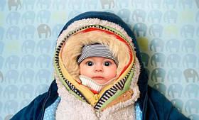 Как правильно одеть ребенка по погоде для выхода на улицу