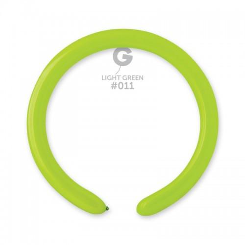 ШДМ Салатовые - латексные шары для моделирования (диаметр 5 см) TM Gemar