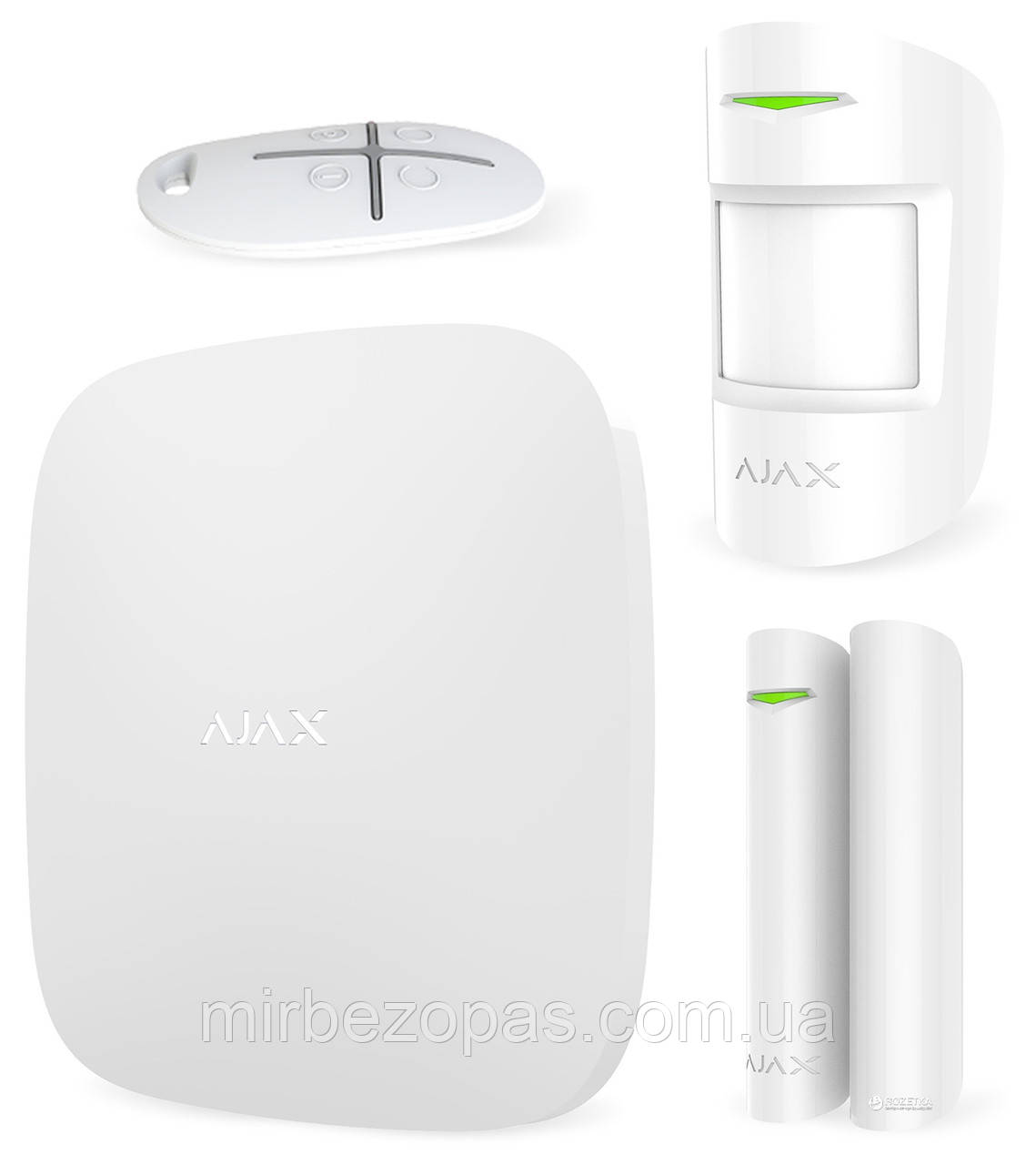 STARTERKIT White комплект беспроводной GSM-сигнализации белый (HUB kit)