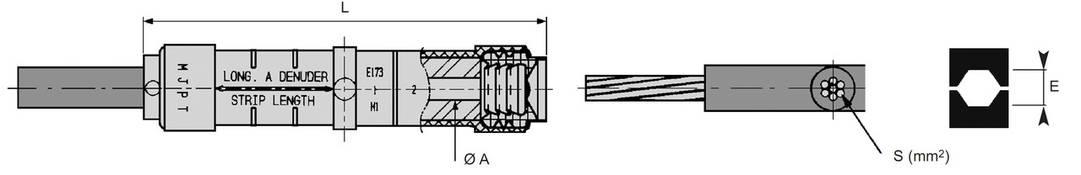 Прессуемые соединительные зажимы MJPT 120 (SICAME), фото 2