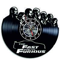 Настенные часы из виниловых пластинок LikeMark Forsazh