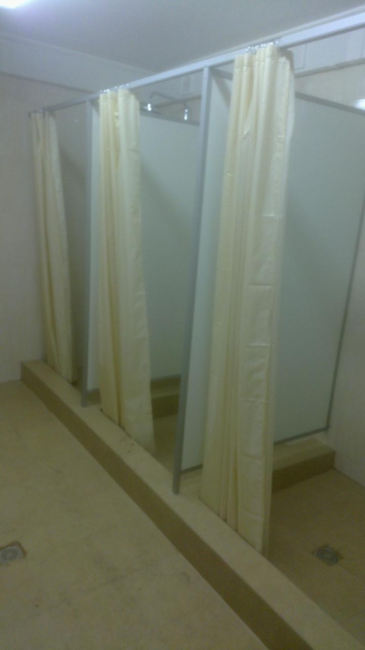 Изготовление и установка перегородок для душа 25мм