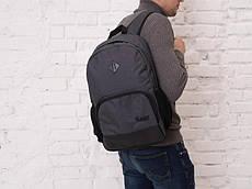 "Рюкзак темно-серый Pobedov Backpack ""Ambition""(dark gray)."