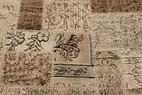 Зістарений килим печворк для сучасного інтер'єру, фото 2