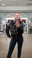 Куртка съемный на жилет с чернобуркой в наличии 44-46 размер