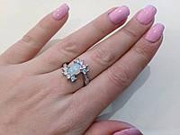 Красивейшее кольцо с огненным опалом в серебре. Кольцо - огненный опал., фото 1