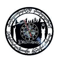 Настенные часы из виниловых пластинок LikeMark Lord of the Rings