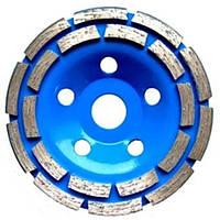 Чашка алмазная шлифовальная Pilim 125*22.2 мм (сегмент, двойной ряд)
