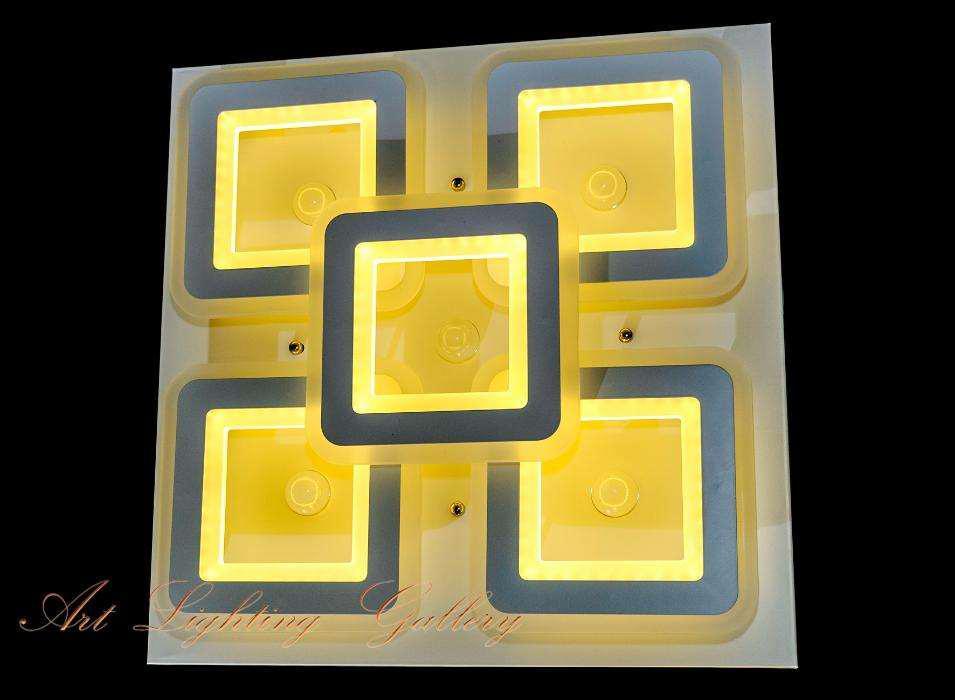 Недорогая светодиодная потолочная люстра 2599