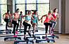 Степ-платформа для фитнеса, йоги и аэробики «Hop-Sport» 3 уровня, фото 4