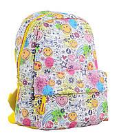 Рюкзак молодежный ST-28 Smile, 34*24*13.5  554942