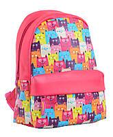 Рюкзак молодежный ST-28 Funny cats, 34*24*13.5  554946
