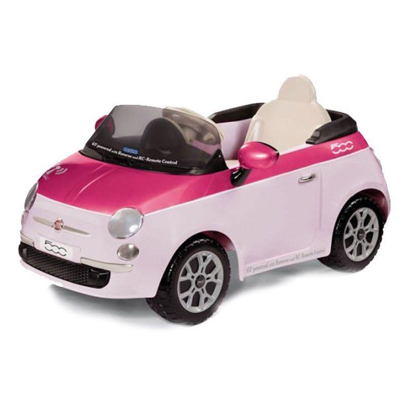 Детский электромобиль Fiat 500 (с пультом) Цвет Pink Peg-Perego IGED1162