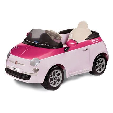 Детский электромобиль Fiat 500 (с пультом) Цвет Pink Peg-Perego IGED1162, фото 2