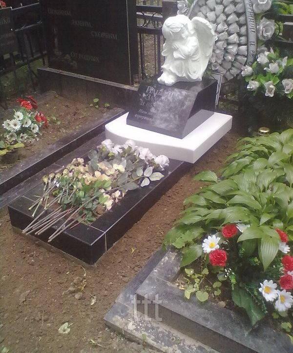 Детский ангелочек на могилу №27