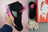 Кроссовки женские Nike Air Jordan 5 / NR-AJW-047 (Реплика)