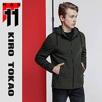 11 Kiro Tokao | Японская мужская ветровка осень-весна 2069 зеленая, фото 1