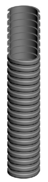 Рукав для всасывания промышленной пыли, —30°С/+70°С, 1462