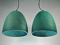 Бетонный светильник ЛЮССИ (окись меди)