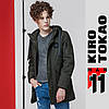 11 Kiro Tokao | Японская парка весна-осень 8888 хаки