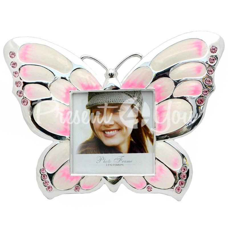 Фоторамка «Розовая бабочка» 12х15,5 см.