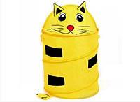 Органайзер для игрушек Кот, корзина для белья