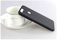 Чехол Huawei P Smart / Enjoy 7S / FIG-LX1 / FIG-LA1 / FIG-LX2 силикон soft touch бампер черный
