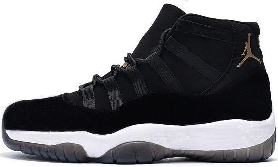 """bae44f23297a Мужские Баскетбольные Кроссовки Air Jordan 11 """"Heiress"""" Black — в Категории"""