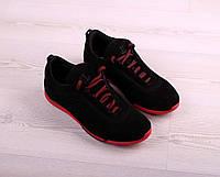 Замшевые кроссовки мужские, фото 1