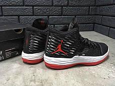 Мужские кроссовки Nike Jordan Melo M13 черные топ реплика, фото 3