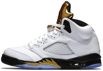 Мужские баскетбольные кроссовки Air Jordan 5 Olympic