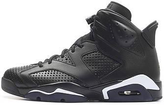 Мужские баскетбольные кроссовки Air Jordan 6 Black Cat