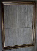 Деревянная рама из ореха с позолоченными сусальным золотом штапиками.