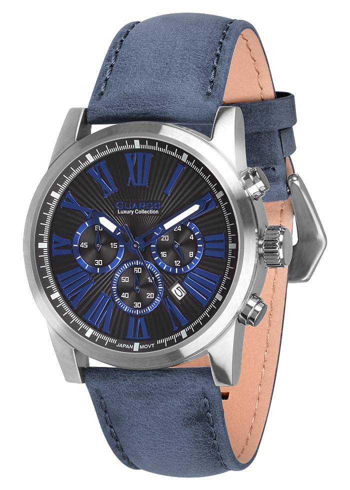 Мужские наручные часы Guardo S01578 GrBlBl