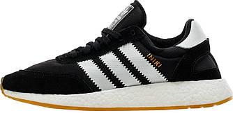 Мужские кроссовки Adidas Iniki Runner Black Gum