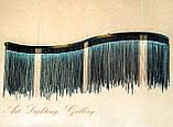 Подвесная светодиодная прямоугольная люстра 1708, фото 2