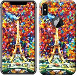 """Чехол на iPhone X Париж """"830c-1050-328"""""""