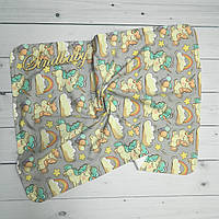 Непромокаемые пеленки для новорожденных -04