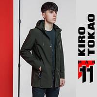 11 Kiro Tokao | Японская ветровка весенне-осенняя мужская 2053 зеленая, фото 1
