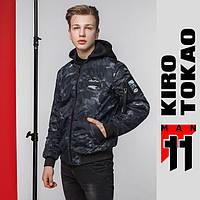 11 Kiro Tokao | Японский весенний бомбер 3312 черный, фото 1